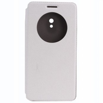 Taff Leather Flip Case for Asus Zenfone 6 - White