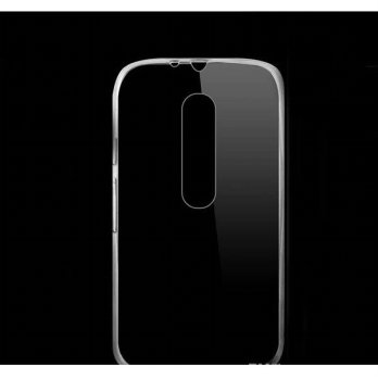 Ultra Thin TPU Case for Motorola Moto G (3rd Generation) - Transparent