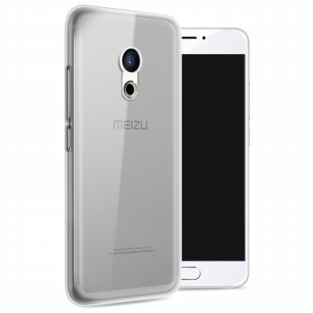Ultra Thin TPU Case for Meizu Pro 6 - Transparent