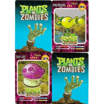 Kartu Trading Card Game Plants vs Zombies