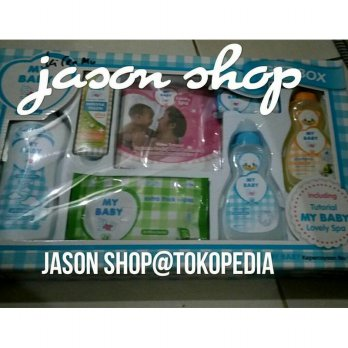 My Baby set gift box/perlengkapan bayi set My Baby gift box