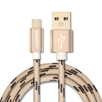 Bastec Kabel Charger Micro USB 1 Meter - Golden