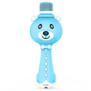 Remax Learning Microphone - K10 - Blue