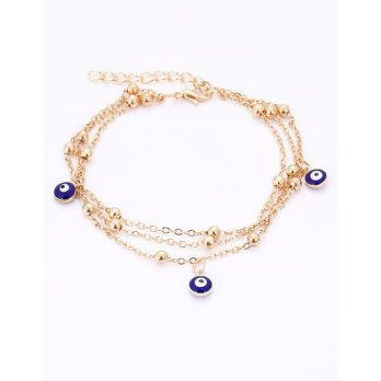 KB58370 Gelang Multilayer Bell Gold