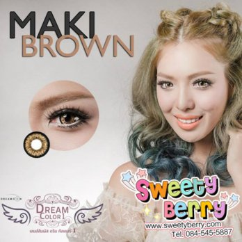 Softlens Dream color MAKI / Soft Lens Dreamcon maki / Dreamcolor