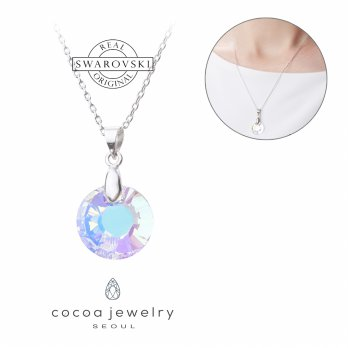 Korea Cocoa Jewelry Loaded With Beauty - Kalung Swarovski