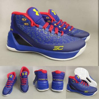 Sepatu Basket Under Armour 3 Curry Premium Original - Air Jordan