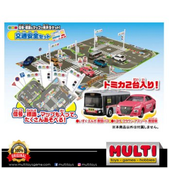 TOMICA GIFT LICENSE GET O TRAFFIC SAFETY 0484139