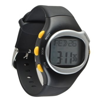 Waterproof Fitness Pulse Rate Monitor Calorie Counter Digital Watch