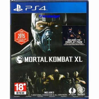 [Sony PS4] Mortal Kombat XL (R3)