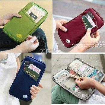 Card id Holder pasport wallet organizer passport kartu kredit uang atm