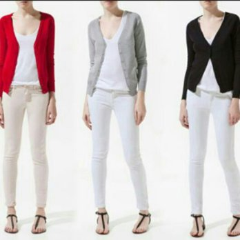 Basic Cardigan Free Size _ High Quality Material