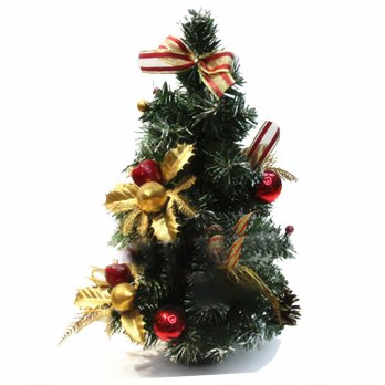 Pohon Natal Mini uk.40 Cm - Christmas Tree - Gift - Bonsai Ornamen
