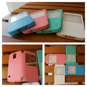 JZZS Flip Cover For Samsung S5