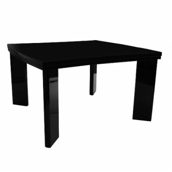 Prissilia - ZigZag Table High Gloss Black