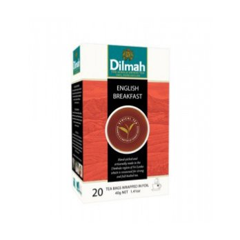 Dilmah English Breakfast Tea - Teh Celup [Kemasan Tag Tbag 20s]
