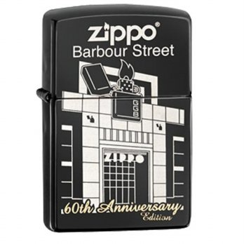 Zippo 60th Anniversary Barbour Street 28790