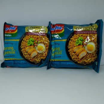 Indomie Mi keriting Goreng spesial special fried curly noodle Premium