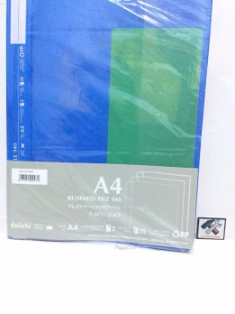 BUSSINESS FILE  MAP BISNIS FILE PENJAGA DOKUMEN DAICHII  A4 SIZE   HIGH QUALITY