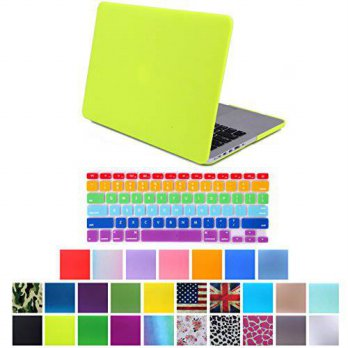 [holiczone] HDE MacBook Pro 13 Retina Case Hard Shell Cover Rubberized Soft Touch + Keyboa/26058