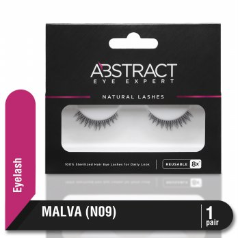 ABSTRACT EYELASH N09 MALVA | Bulu Mata Palsu