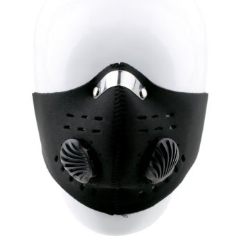 Masker Motor SKI Anti Dust Face Mask Filter