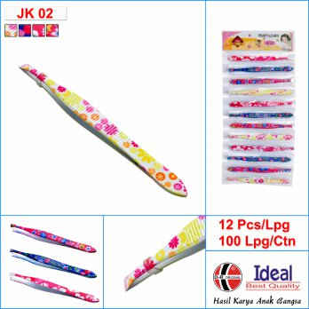 [D-R Original] Pinset Fancy Motif Bunga JK02 Ideal D-R Original