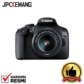 Canon EOS 1500D Kit 18-55mm IS II Black GARANSI RESMI