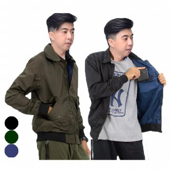 KFashion Jaket Pria Motor Nicho / Jacket Casual Outdoor Parasut Training