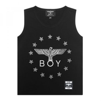 [BOYLONDON] Kids Sleeveless B62SL04K89