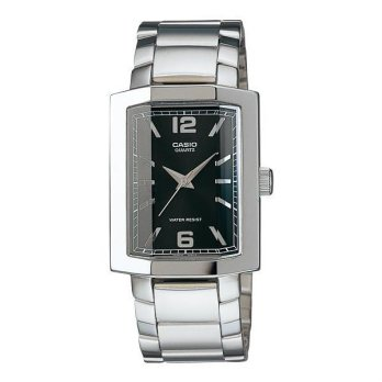 Casio MTP-1233D-1A Jam Tangan Pria Stainless stell 45mm - Silver