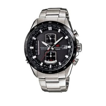 Casio Edifice EQW-A1110DB-1ADR Jam Tangan Pria Stainless Steel - Black