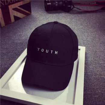 Topi Baseball Youth Caps Letter Sport Fashion