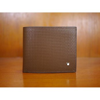 Promo Dompet Pria Import Branded Mont Blanc Dk122 Brown |Zr4042