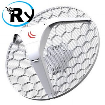 Mikrotik RBLHG-5nD RB LHG-5nD Embedded 5Ghz - White