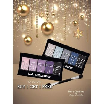 [SALE BUY 1 GET 1 FREE] LA COLORS MATTE EYESHADOW