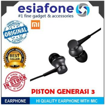 [esiafone original deal] XIAOMI Mi Piston Huosai 3 Earphone Colorful / Fresh Version with Mic Kabel