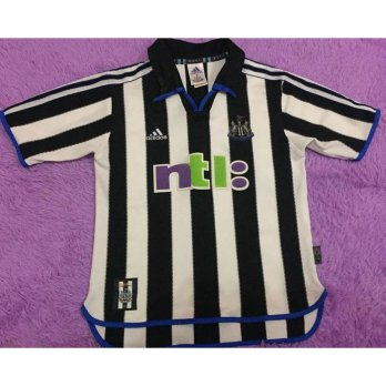 JERSEY ORIGINAL NEWCASTLE UNITED 2000 HOME RETRO RARE