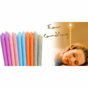FIRSTPROJECT LILIN AROMATERAPI SPA EAR CANDLE 6 PASANG ATAU 12 BUAH