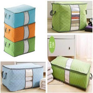 Storage Box Warna stand up / storage Box colourfull Gen- 2 pakaian selimut bed cover
