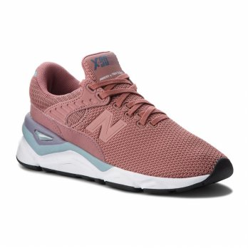 Sepatu Olahraga Lari Senam Gym New Balance X-90 Quilted MEsh W Run Shoes- Pink WSX90CLC