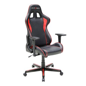 Gaming Chair DXRacer Formula Series OH/FL08/NR Black Red Indonesia