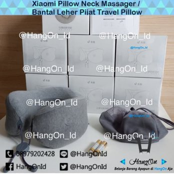 Xiaomi Pillow Neck Massager / Bantal Leher Pijat Travel