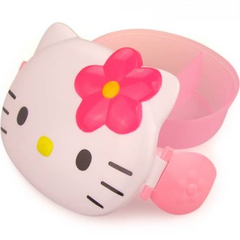 Hello Kitty cartoon lunch box ( Kotak Makan )