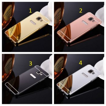 LUXURY ALUMINIUM BUMPER MIRROR SAMSUNG A310 / A3 2016 GOOD QUALITY