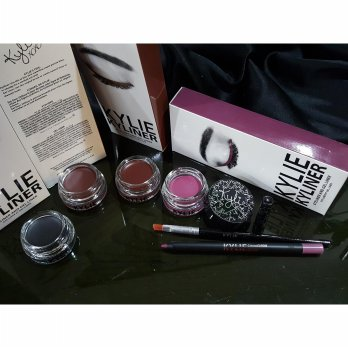KYLINER - Kylie Kit 3in1 Eyeliner / Eyebrow Gel + Kuas + Pensil Crayon