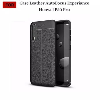 Casing Huawei P20 Pro Leather Autofocus Experience