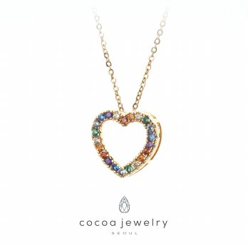 Cocoa Jewelry Kalung Love in Color - No Box