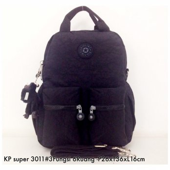 Tas Ransel Kipling Backpack Handbag Selempang  3in1 6 R 3011 - 9