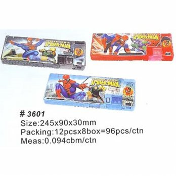 TEMPAT PENSIL MAGNET SPIDERMAN 3601